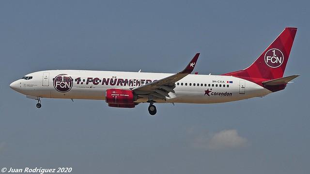 9H-CXA - Corendon Airlines Europa - Boeing 737-85R (WL) - PMI/LEPA
