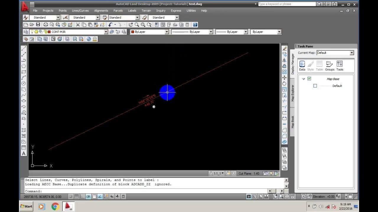 Working with Autodesk AutoCAD Land Desktop 2009 full