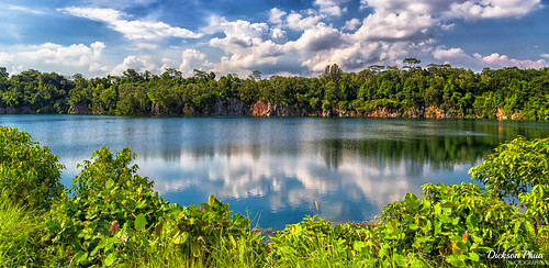 charm landscape asia ubin old reflection pace 2016 slow pulau sg november ketam photography sea singapore water quarry world southeast