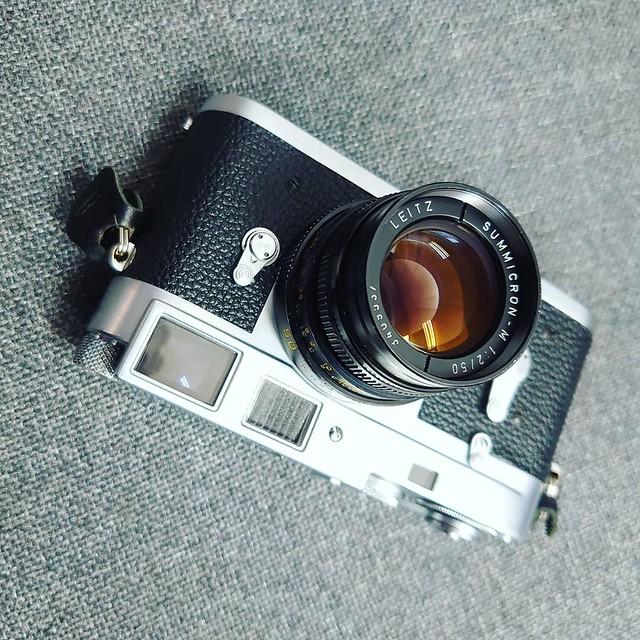 Leica summicron 50mm f2 三代目? 四代目?