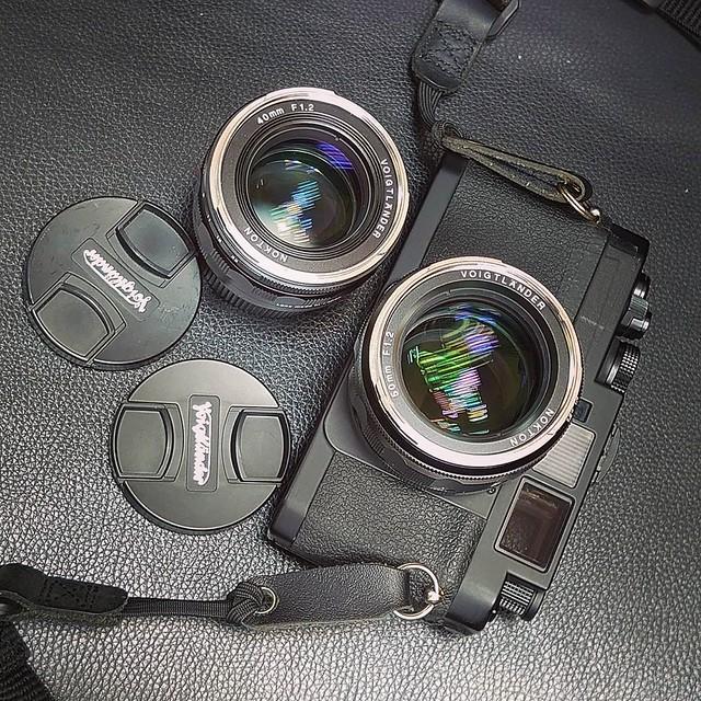 Voigtlander 50mm f1.2 福倫達雙非鏡神