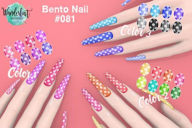 BENTO NAIL #081