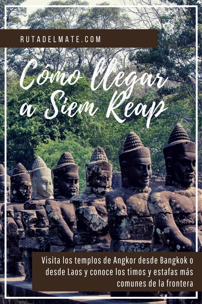 Cómo llegar a Siem Reap desde Bangkok o Laos