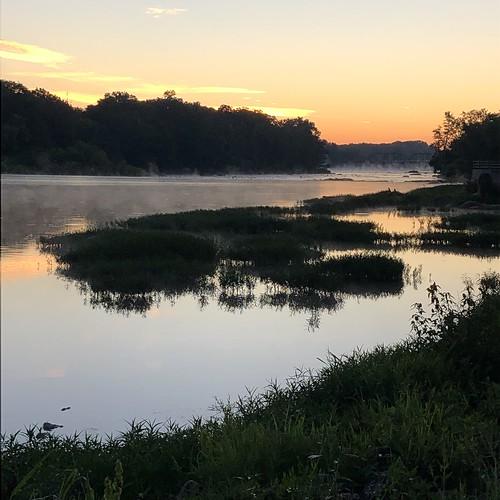 buckeyetrail ohio camping maumeeriver sunrise river