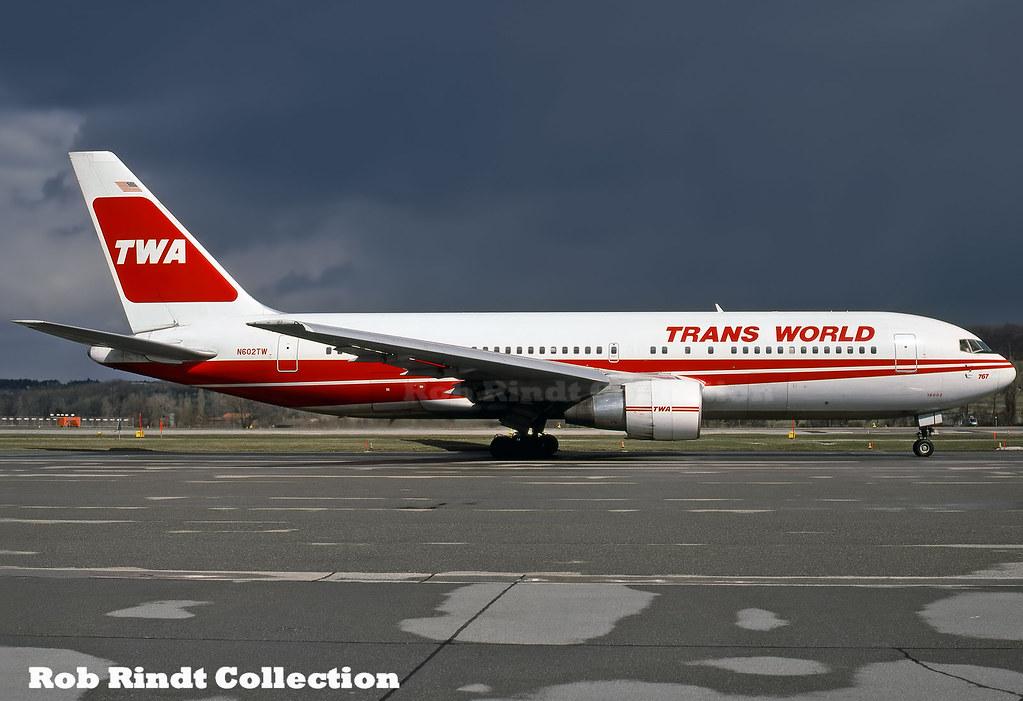 TWA B767-231 N602TW