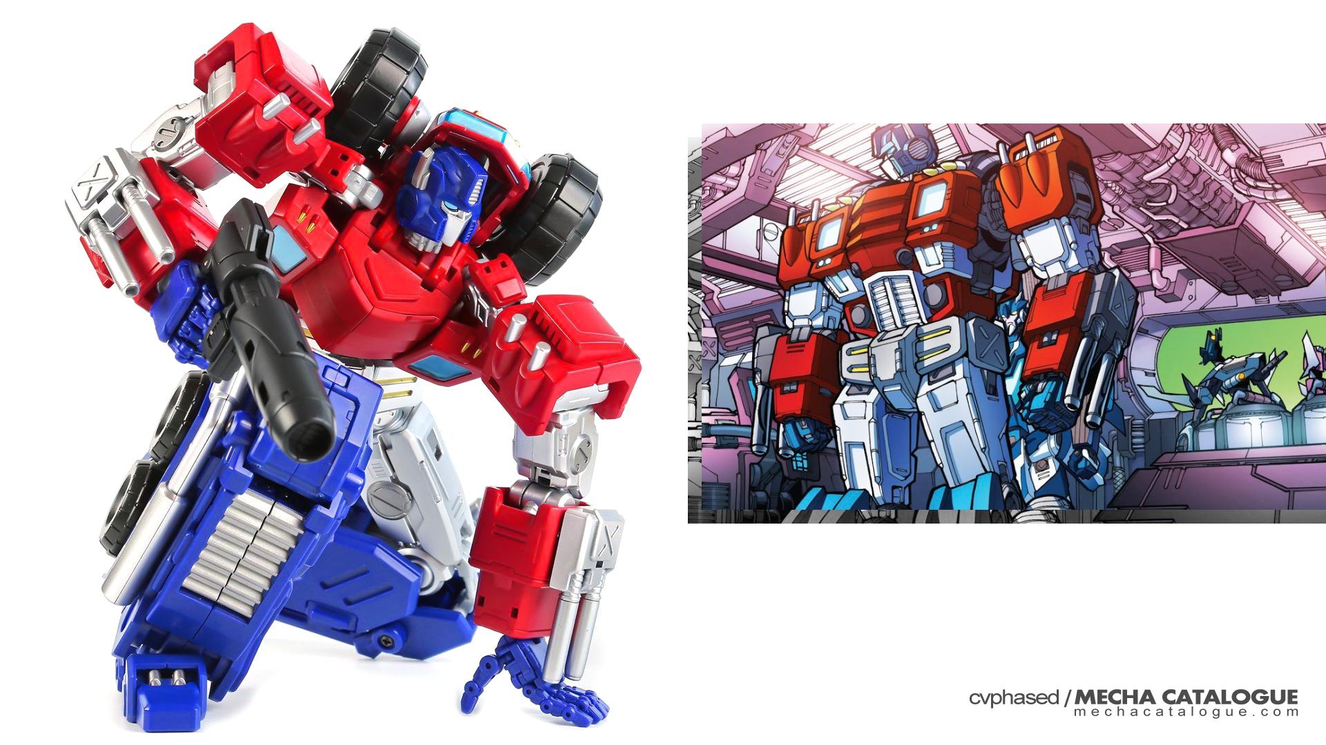 "Third-Party Tease! Mastermind Creations Optus Pexus (""The Transformers: Chaos Theory"" Optimus Prime)"