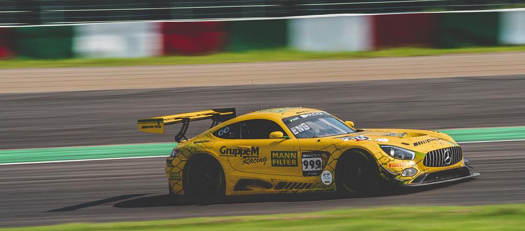 2019 Suzuka 10h No.999 GruppeM Racing Mercedes AMG GT