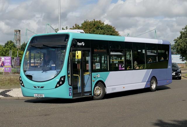 First Glasgow 47395 (LJ13GKU)