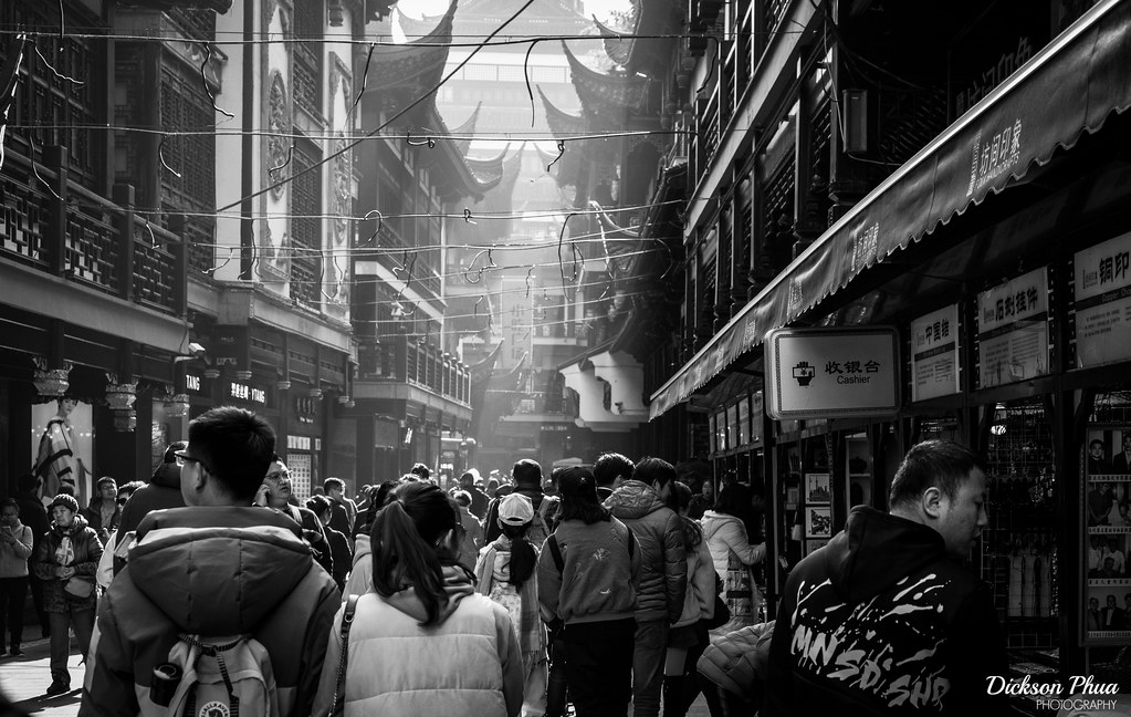 Claustrophobia of a Tourist Trap