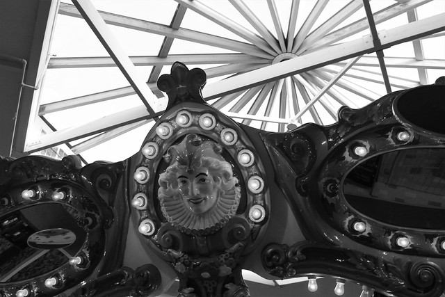 Hand-Painted Carousel (Colorless)