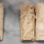 Reliefs of Dionysus with cornucopia and panthers from a funeral couch, Fossa