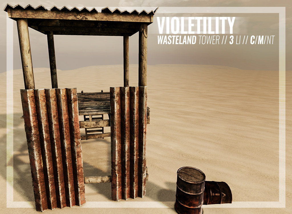 Violetility – Wasteland Tower