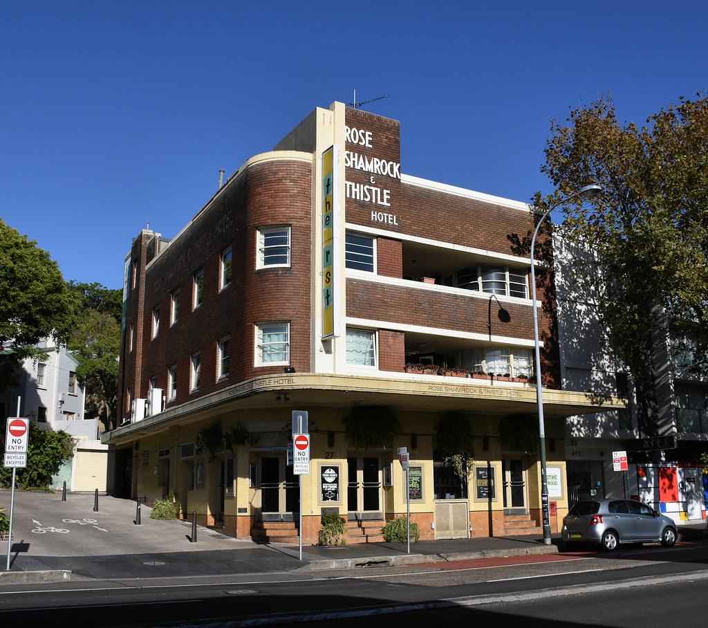 Rose Shamrock and Thistle Hotel, Paddington, Sydney, NSW.