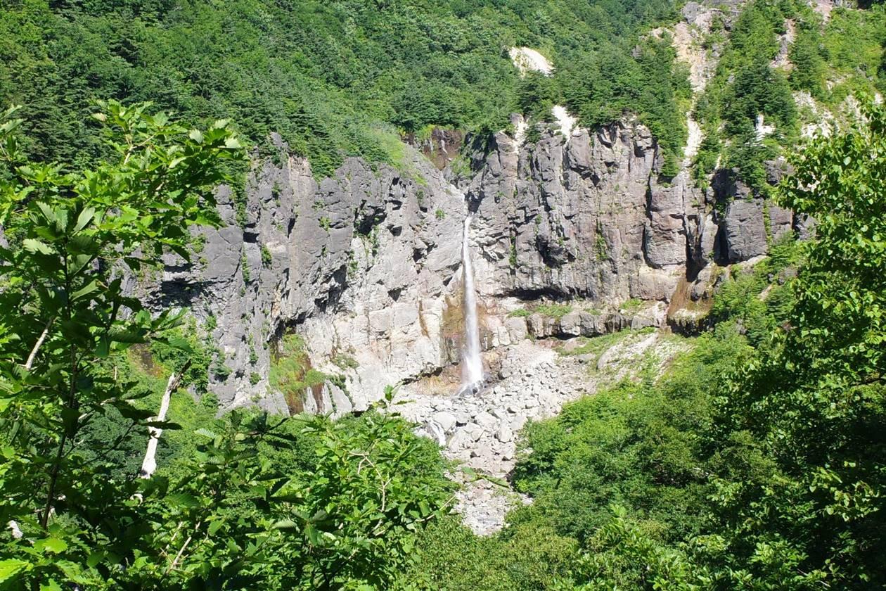安達太良山・白糸の滝