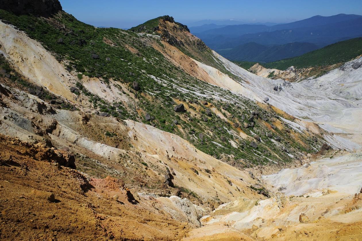 安達太良山の火口