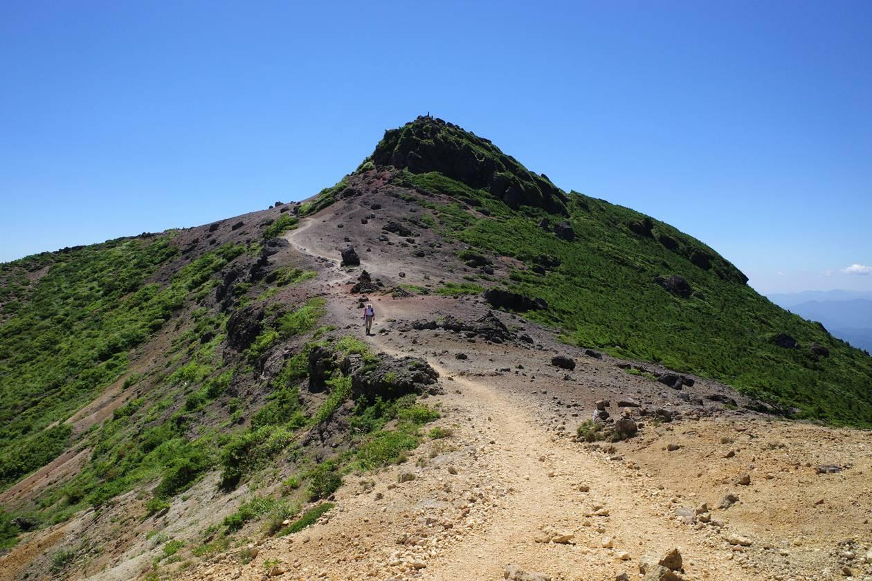 安達太良山山頂(乳首)