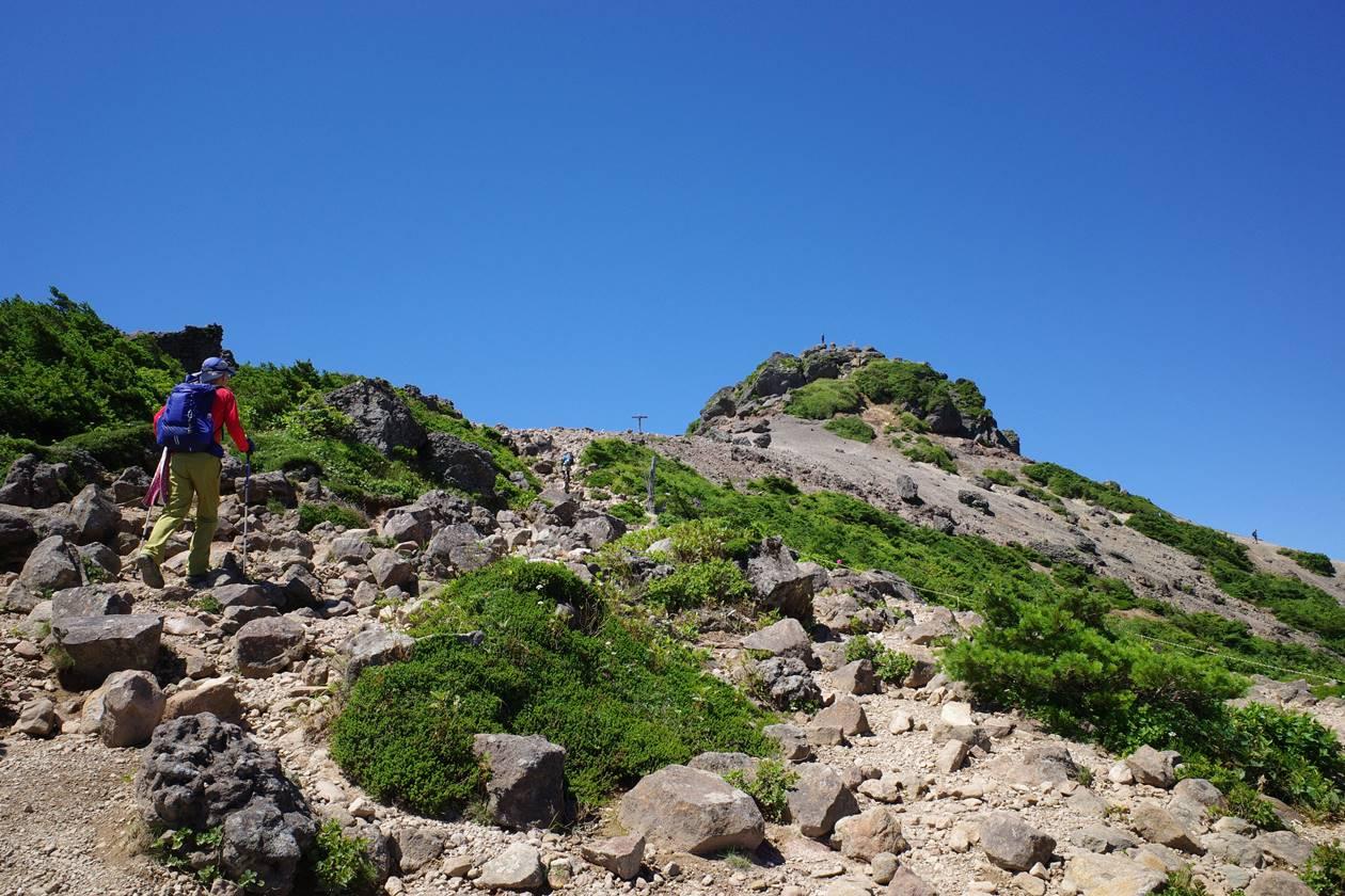 安達太良山・乳首山