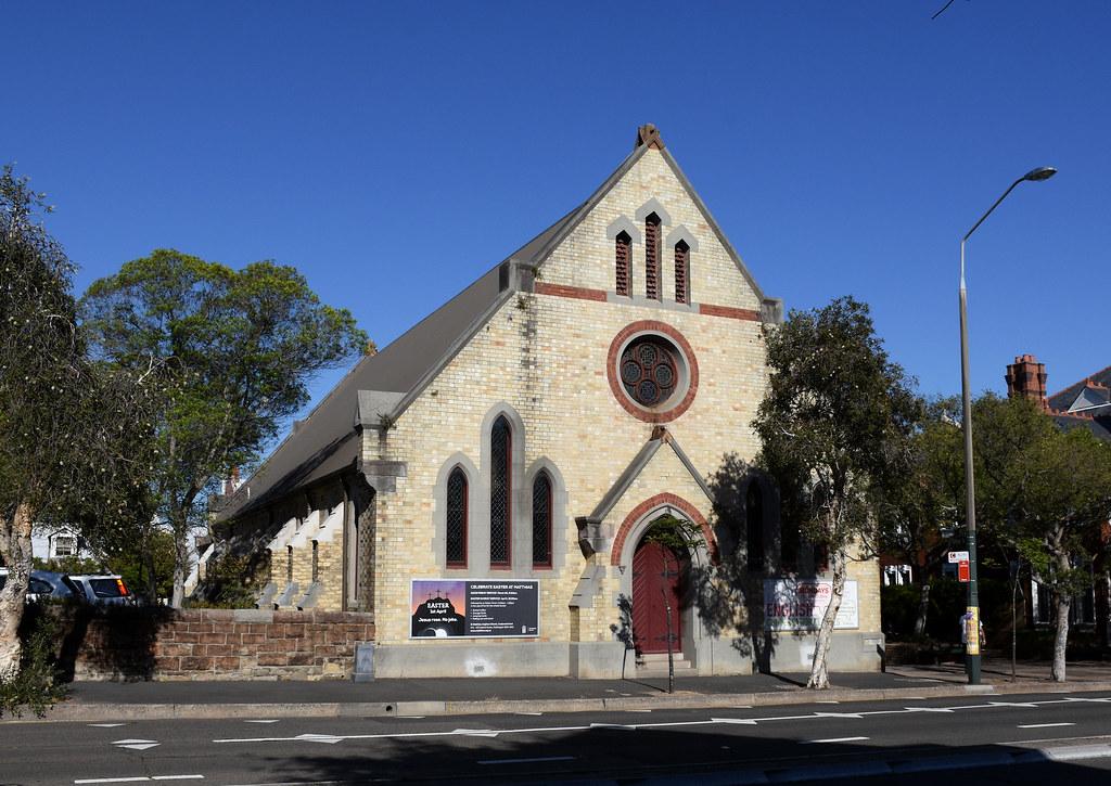 St Matthias Anglican Church, Paddington, Sydney, NSW.