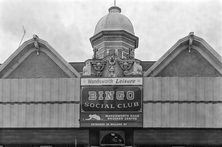 Bingo, Wandsworth Rd Snooker Centre, Clapham, Lambeth, 1988 88-2e-12-positive_2400