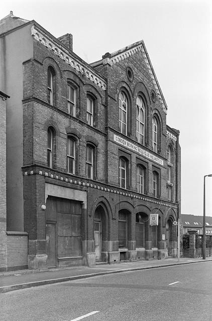 Cobden Working Mens Club and Institute, Kensal Rd, Kensal Town, Kensington & Chelsea, 1988  88-2c-12-positive_2400