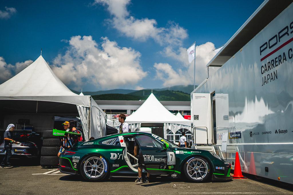 2019 Porsche Carrera Cup Japan Fuji