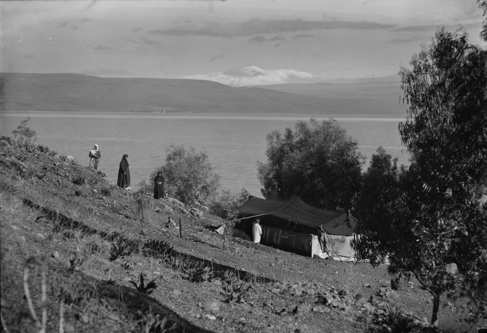 17. Вид на Кинерет и гору Хермон с крыльца Торрансса