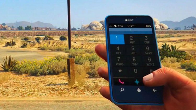 GTA 5, cep telefonu