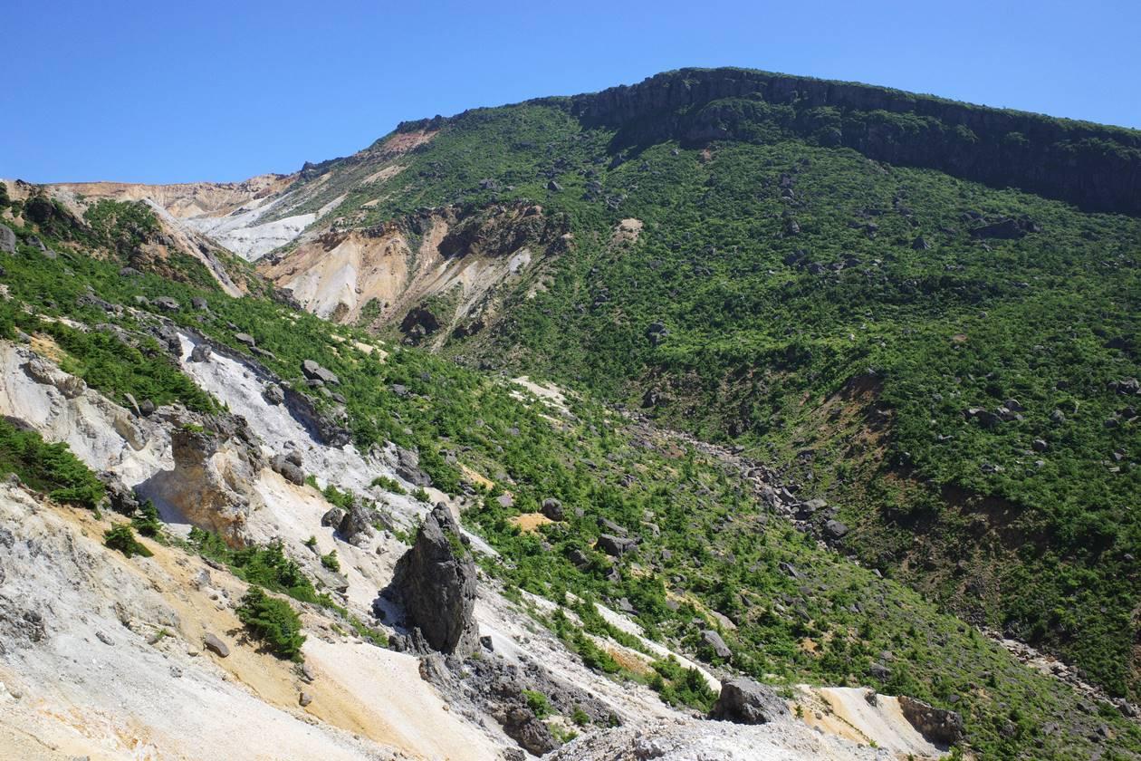 夏の安達太良山 奥岳~沼尻縦走登山