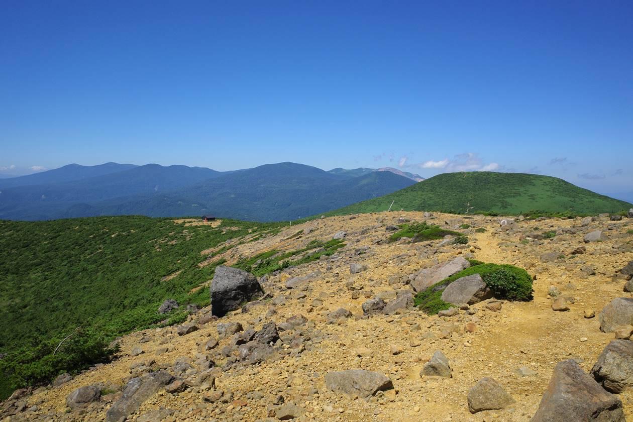 安達太良山から眺める吾妻連峰