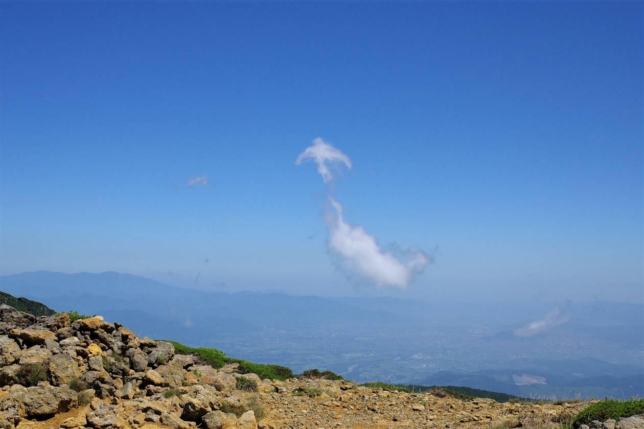 鳥のような雲
