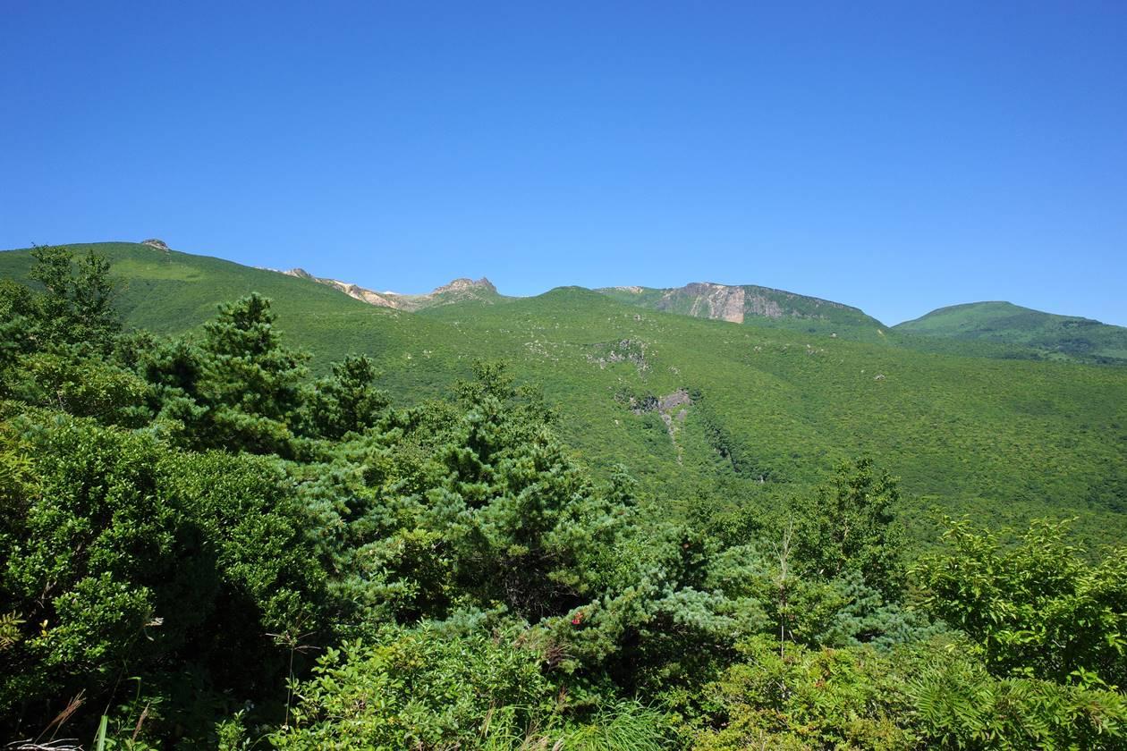 安達太良山・薬師岳からの展望