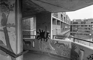 Paul House, Ladbroke Grove, North Kensington, Kensington & Chelsea, 1988  88-2c-45-positive_2400