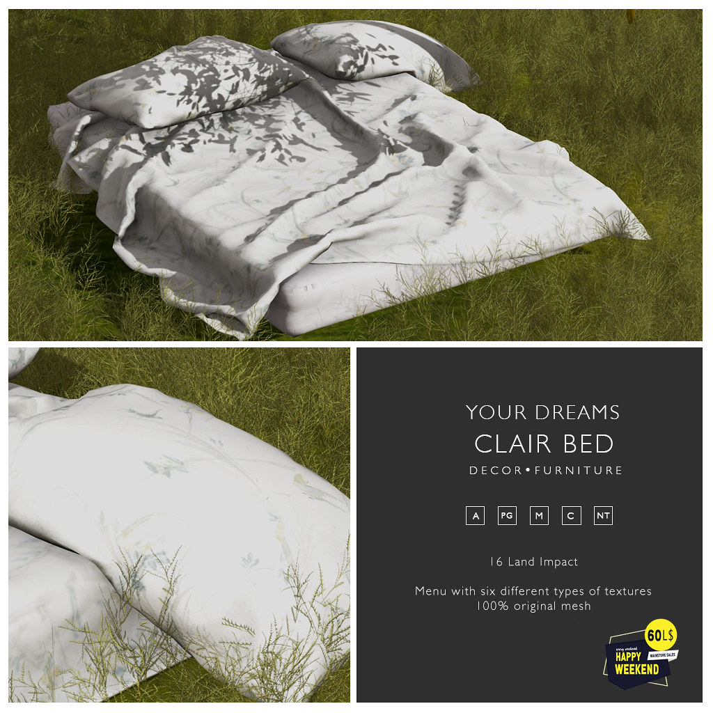 {YD} Clair Bed