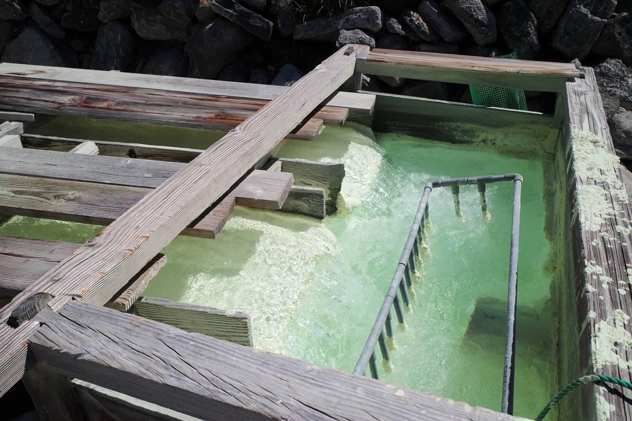 安達太良山の源泉