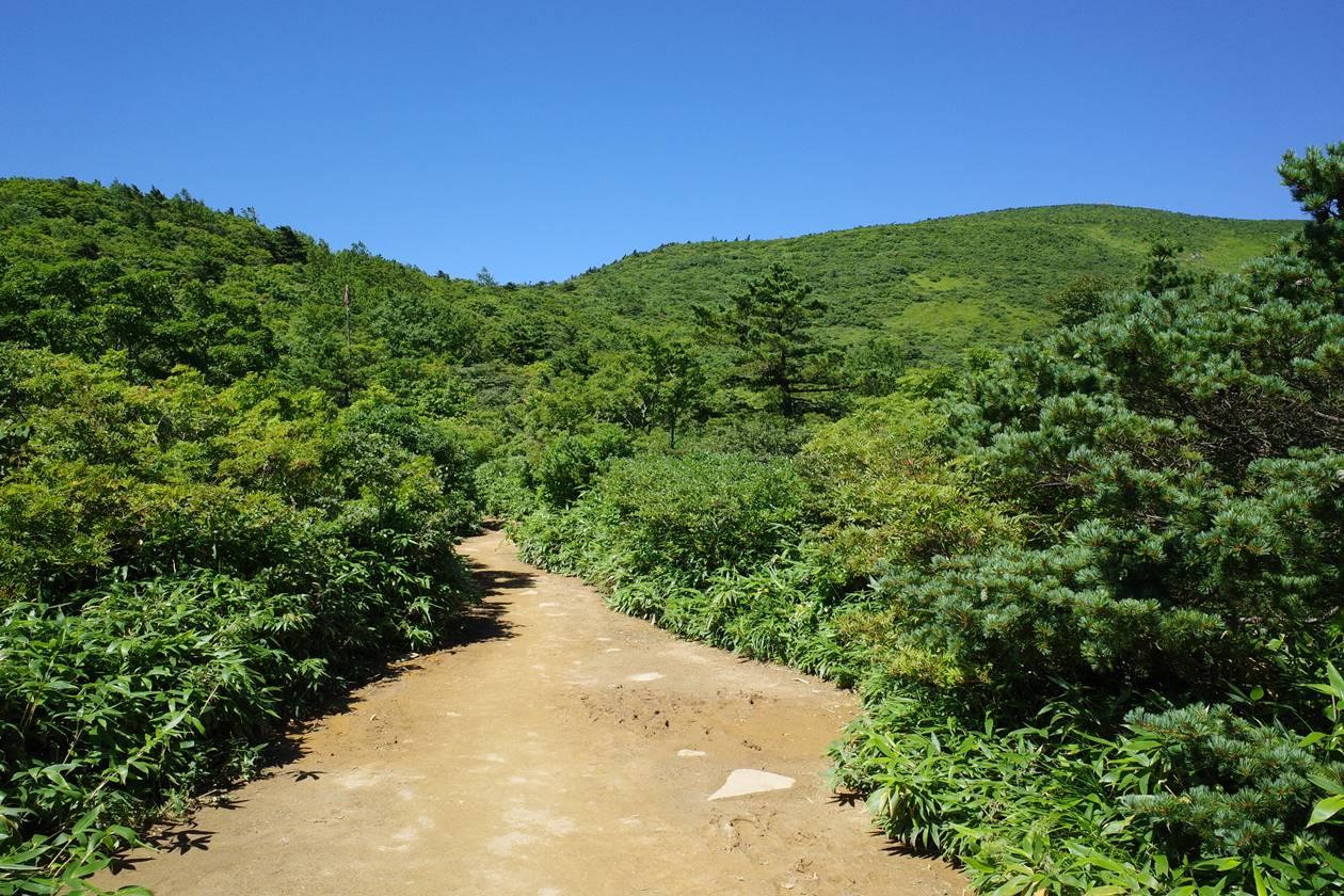 安達太良山登山道
