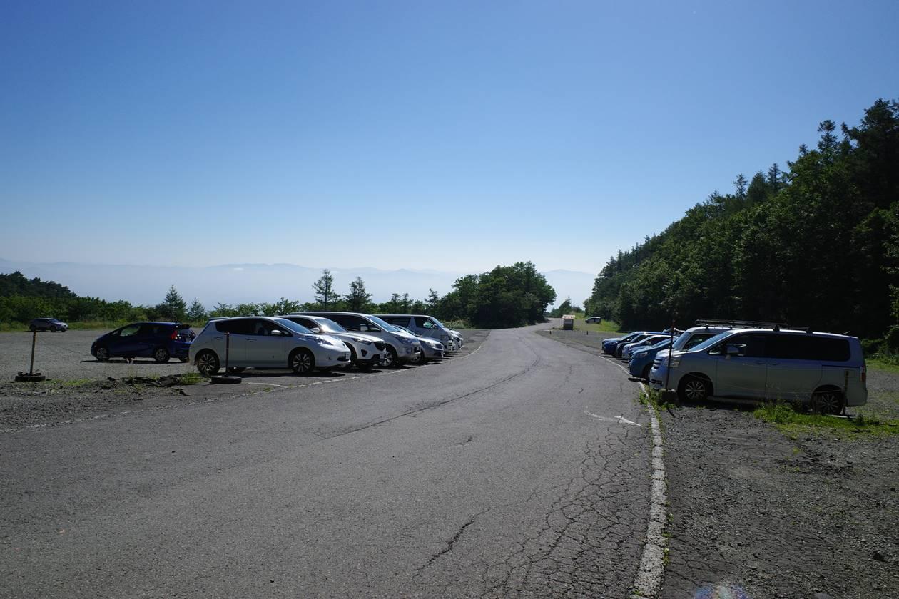 安達太良山 奥岳登山口駐車場
