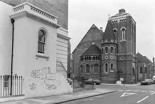 Saint Michael, North Kensington, Ladbroke Grove, Kensington & Chelsea, 1988  88-2c-44-positive_2400