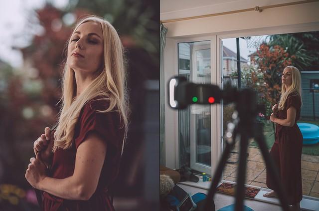 Technique for soft fill-flash portraits
