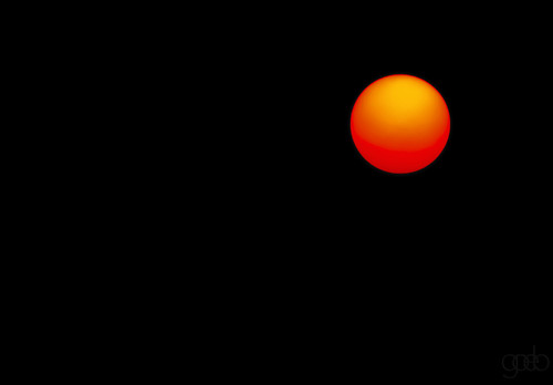 sun sony select smoke sunset summer smokephotography smokeart circular circle black mostlyblack orange yellow minimalism simple single one nopeople outside exterior negativespace pretty basic abstract a9 nikkor manualfocus