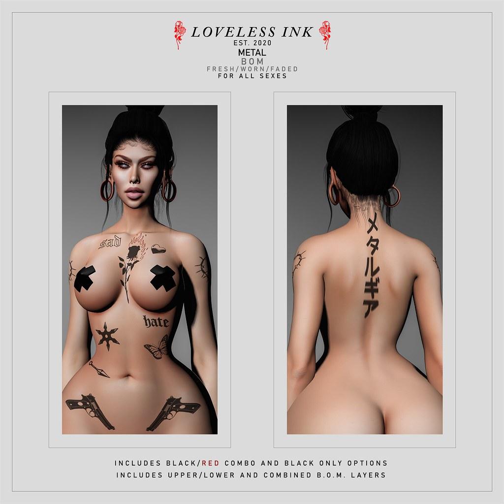 Loveless Ink - Metal