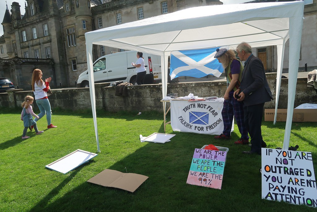 Falkirk For Freedom 2 - 22/8/20