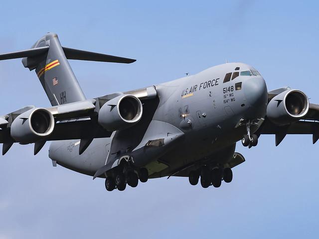 United States Air Force | Boeing C-17A Globemaster III | 05-5148