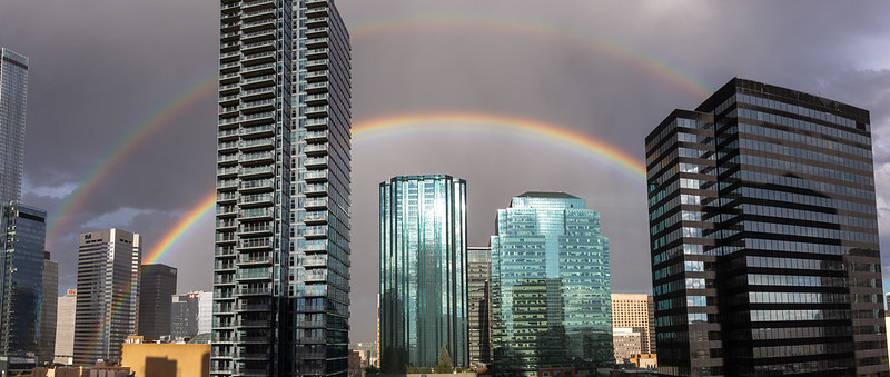 Downtown Edmonton Rainbow