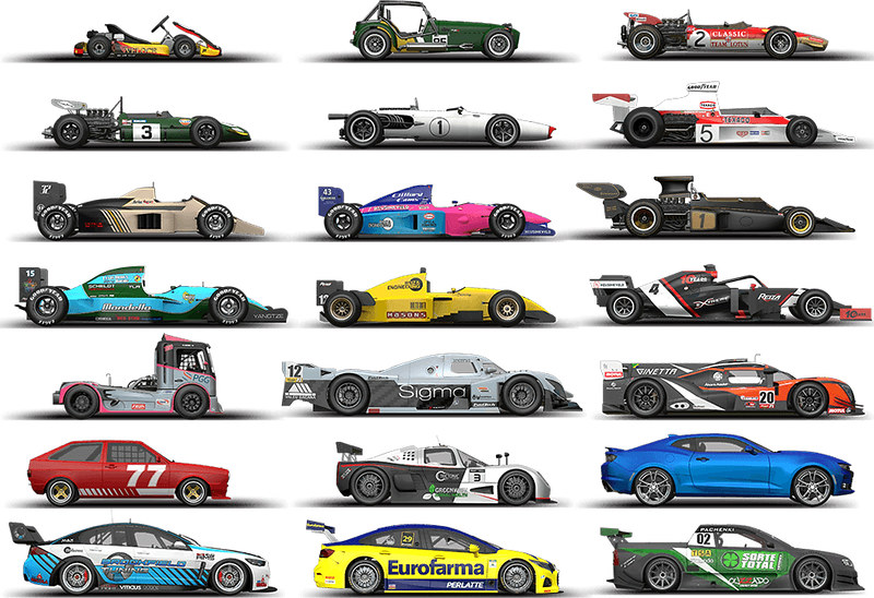 AMS2 Cars