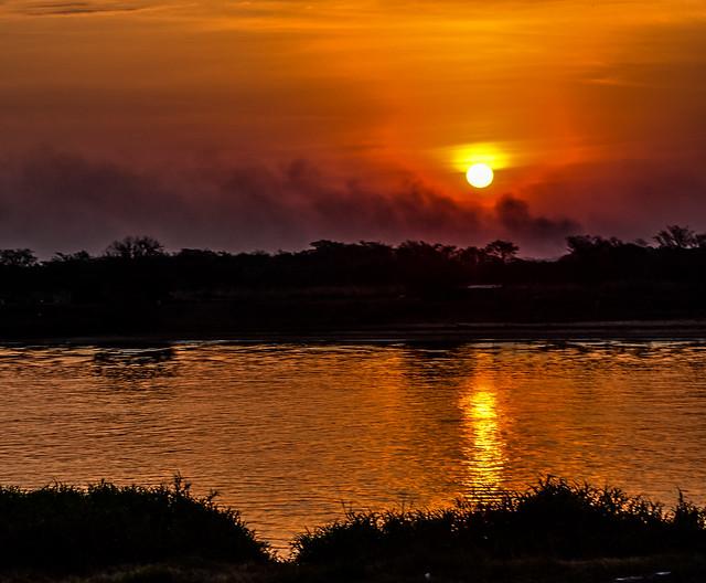 Sunset & Smoke