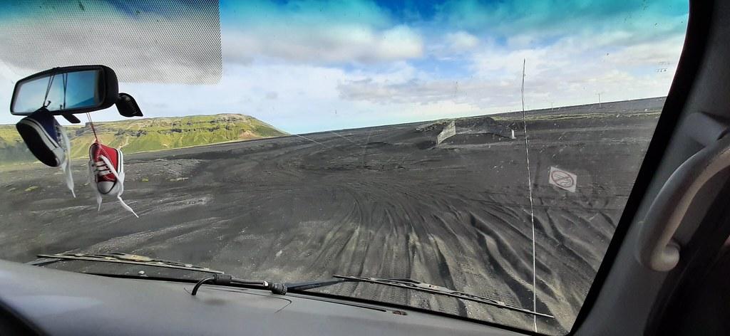 Road to Katla Ice Cave, Mýrdalssandur