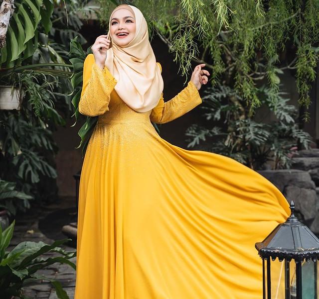 Patutlah Gaun Kuning Siti Nurhaliza Hilang, Ini Rupanya Terjadi
