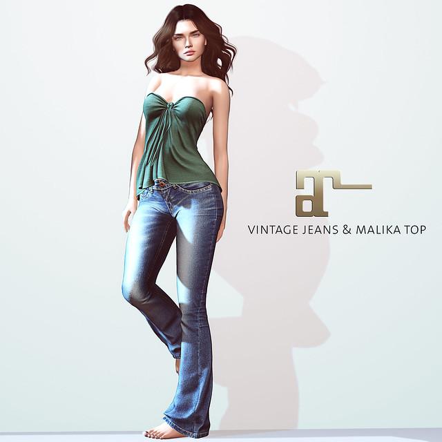 Maitreya Vintage Jeans & Malika Top