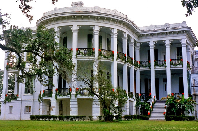 Nottoway Plantation. White Castle, Louisiana.