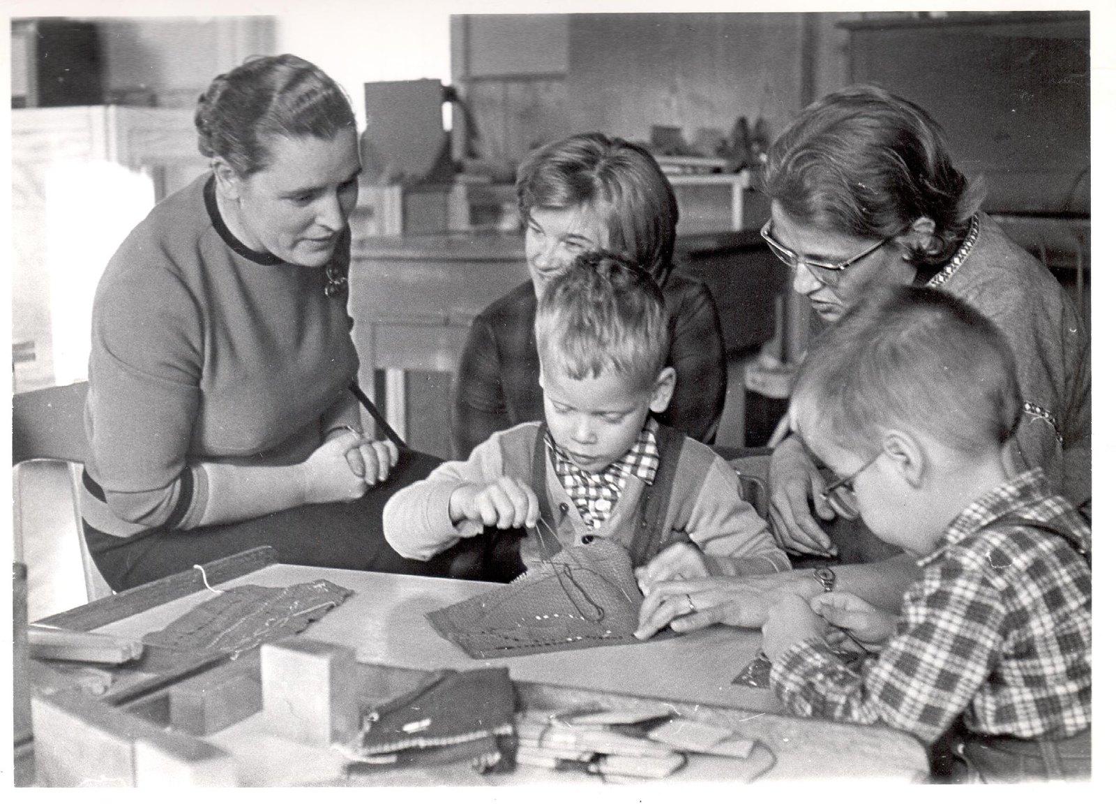 1955. Л.К. Балясная в Норвегии